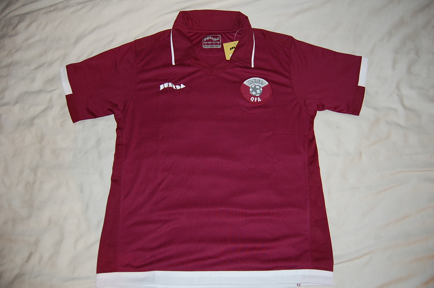 Qatar football shirt.JPG