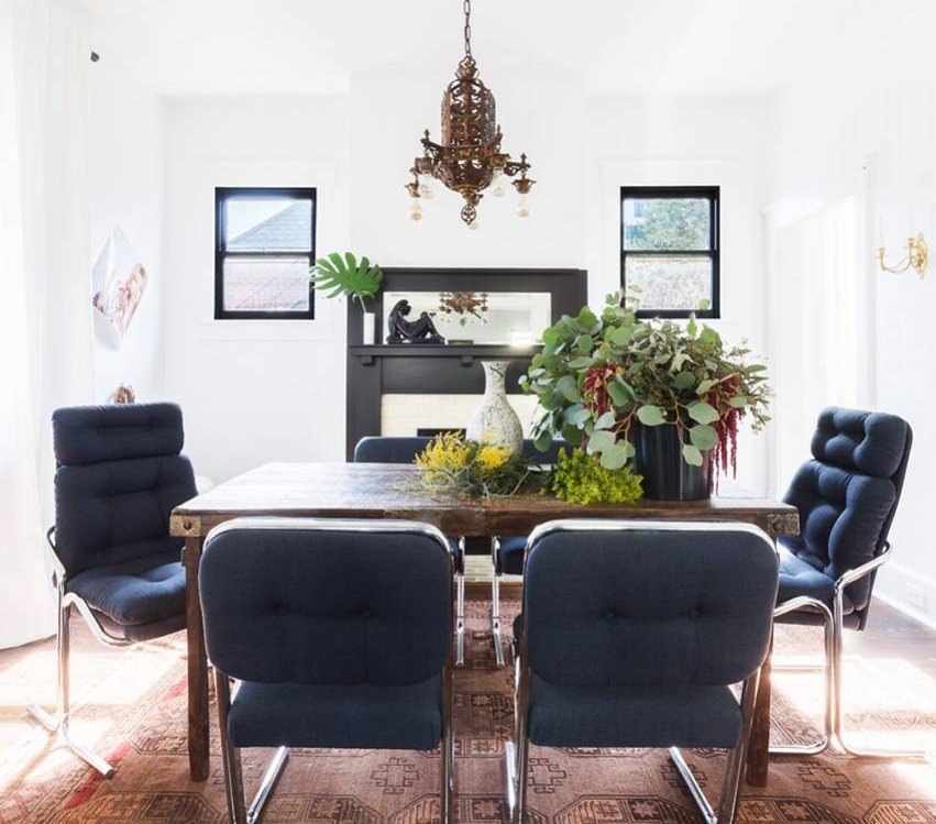 inside an eclectic nashville home tour - my domaine, august 2018