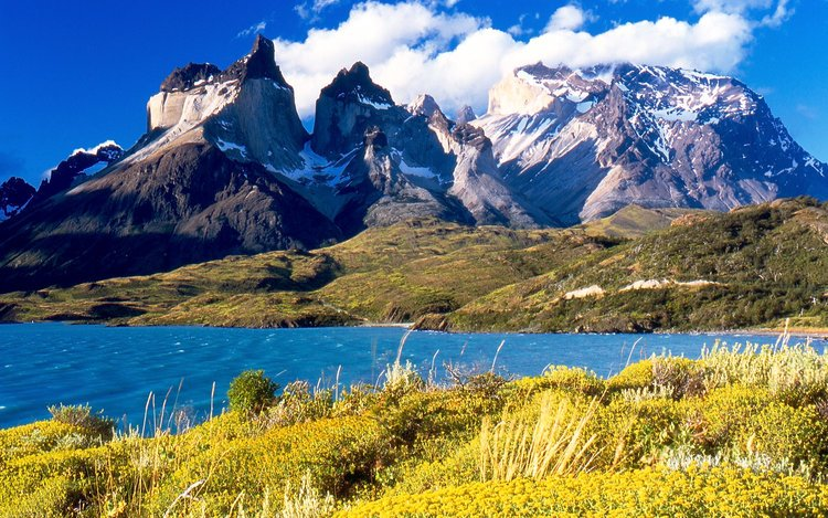 Mountains and Lakes of Patagonia