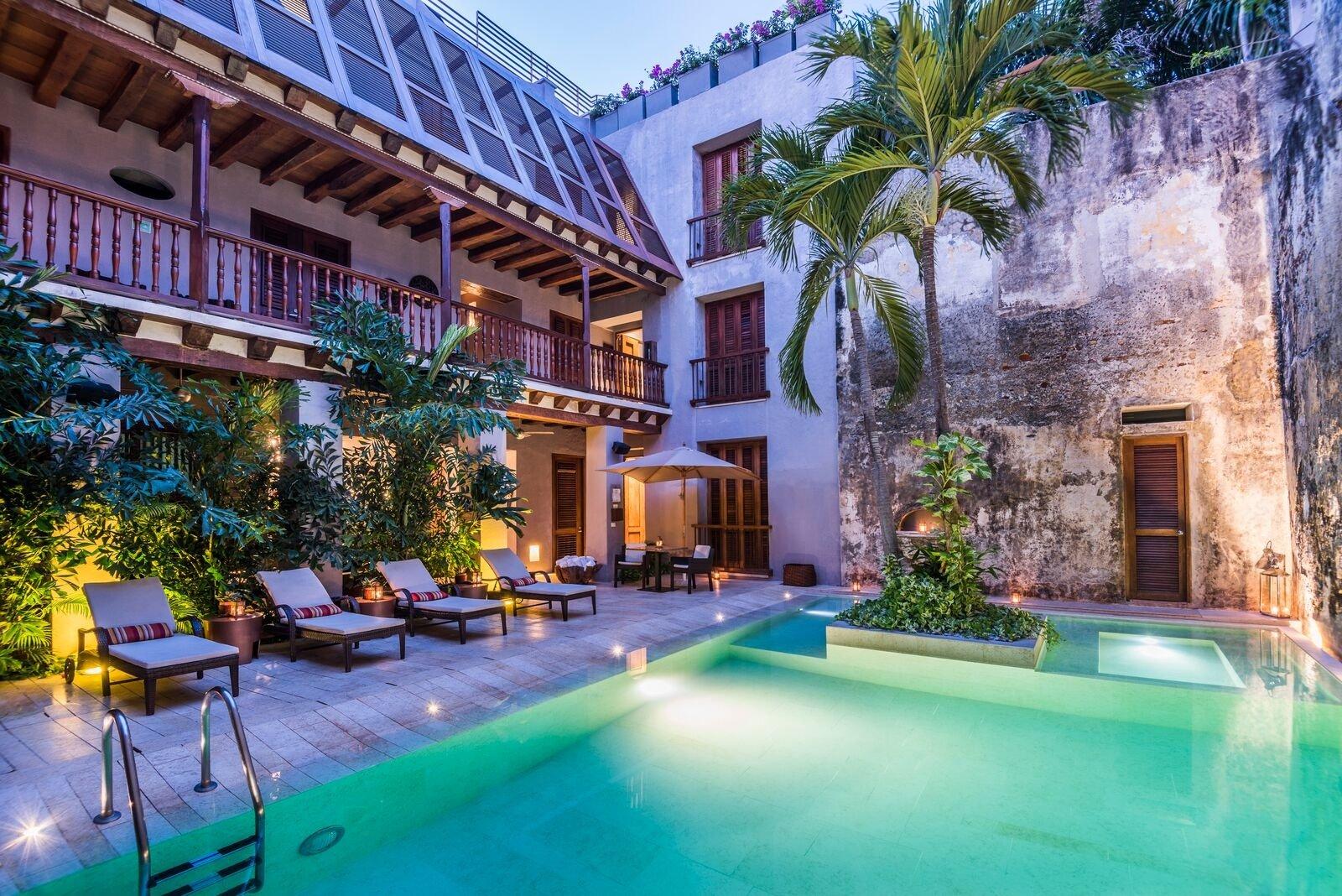 Hotel Pestagua, Cartagena, Colombia