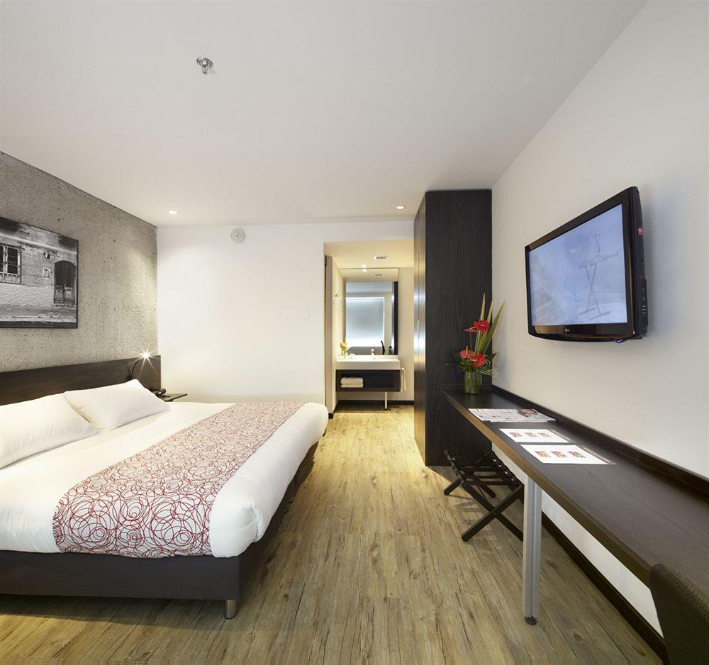 Room at Hotel B3 Virrey, Bogota, Colombia
