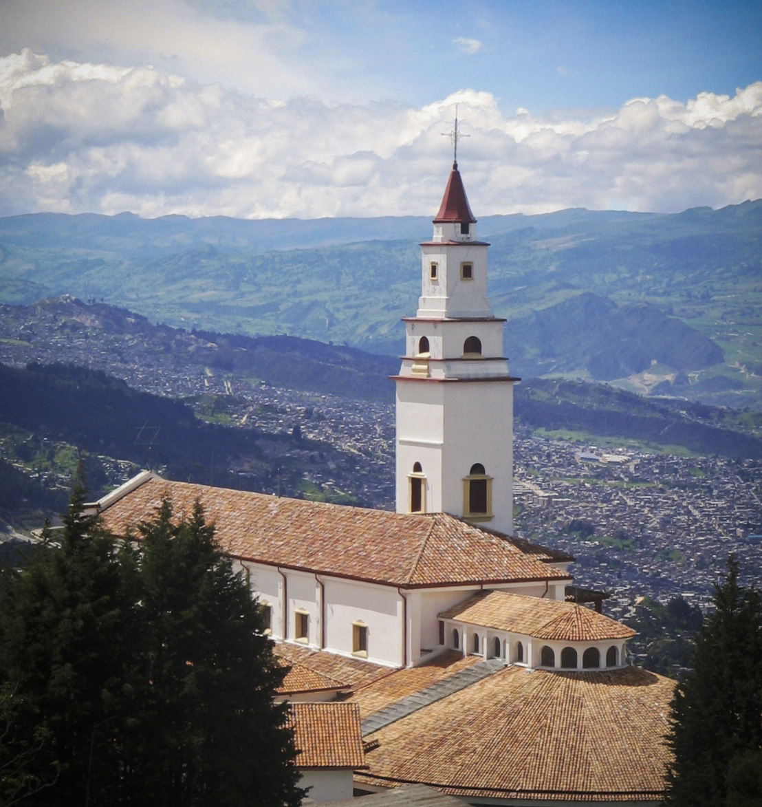Sanctuary of Monserrate, Bogota, Colombia