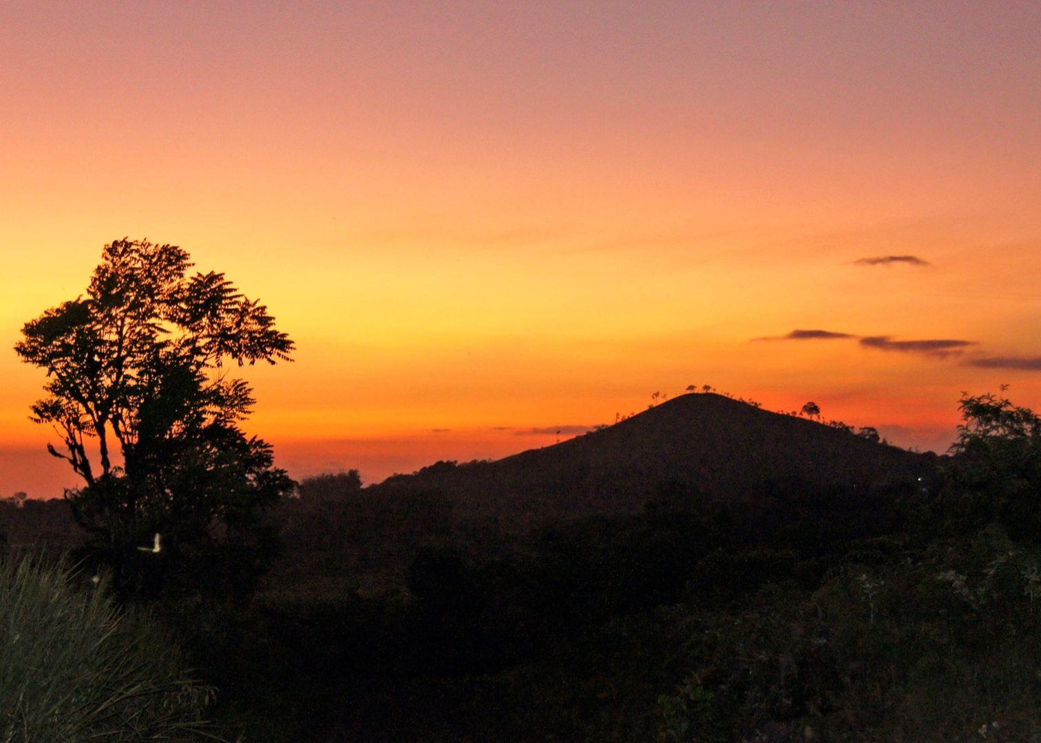 Sunset in Galapagos, Ecuador