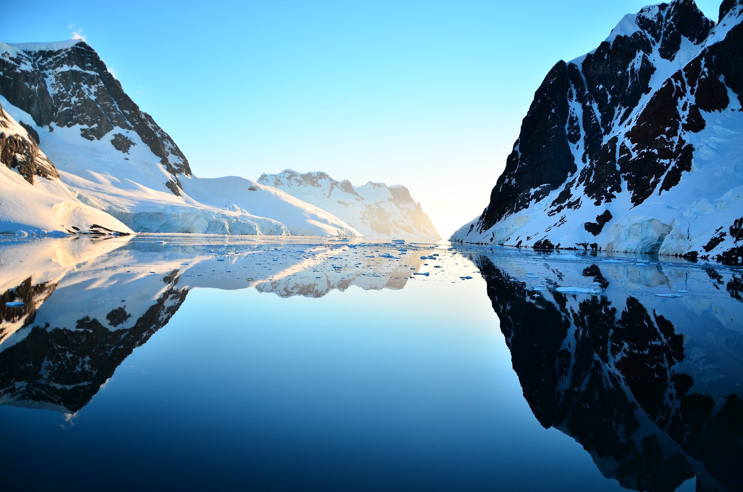 The Fjords of Antarctica