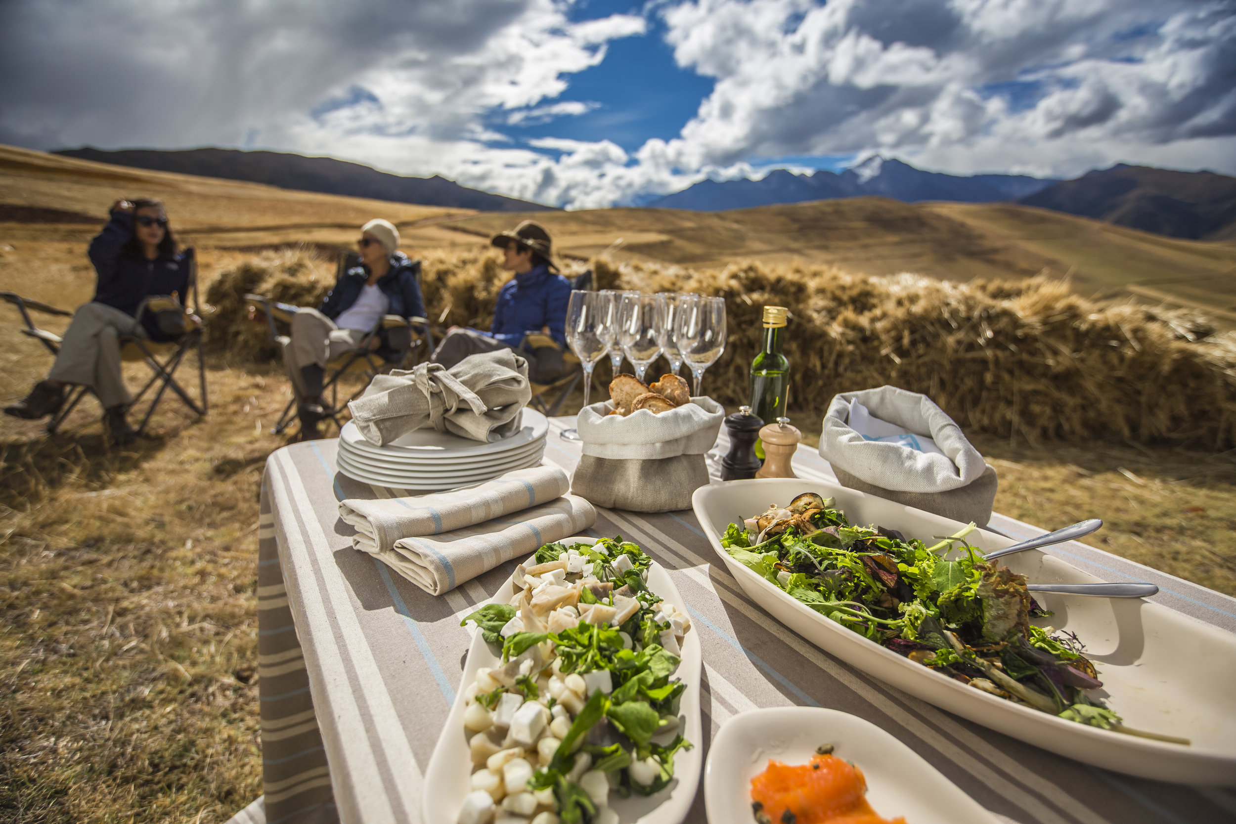Lunch Break with explora Sacred Valley, Peru