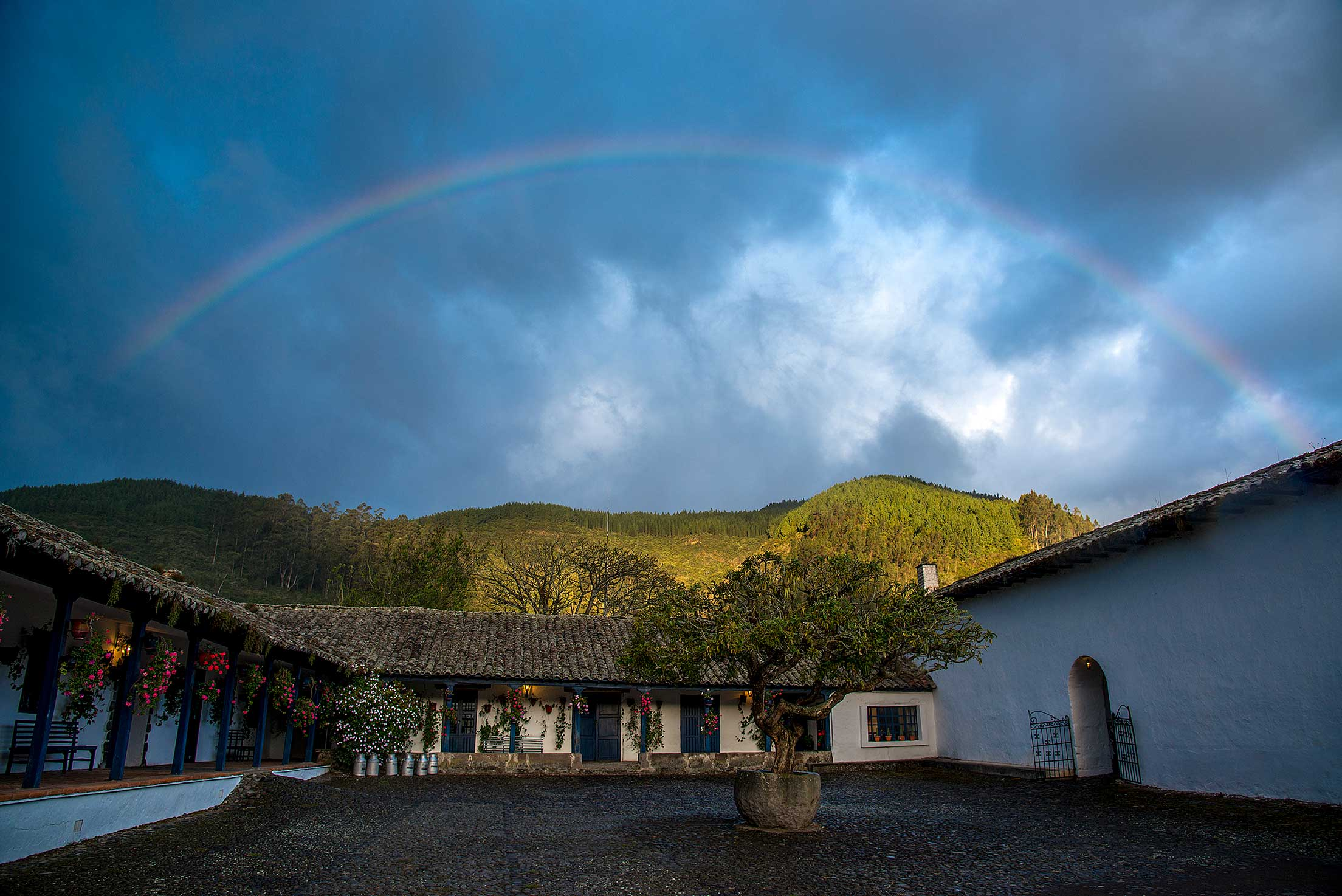 Hacienda Zuleta in the Andean Highlands