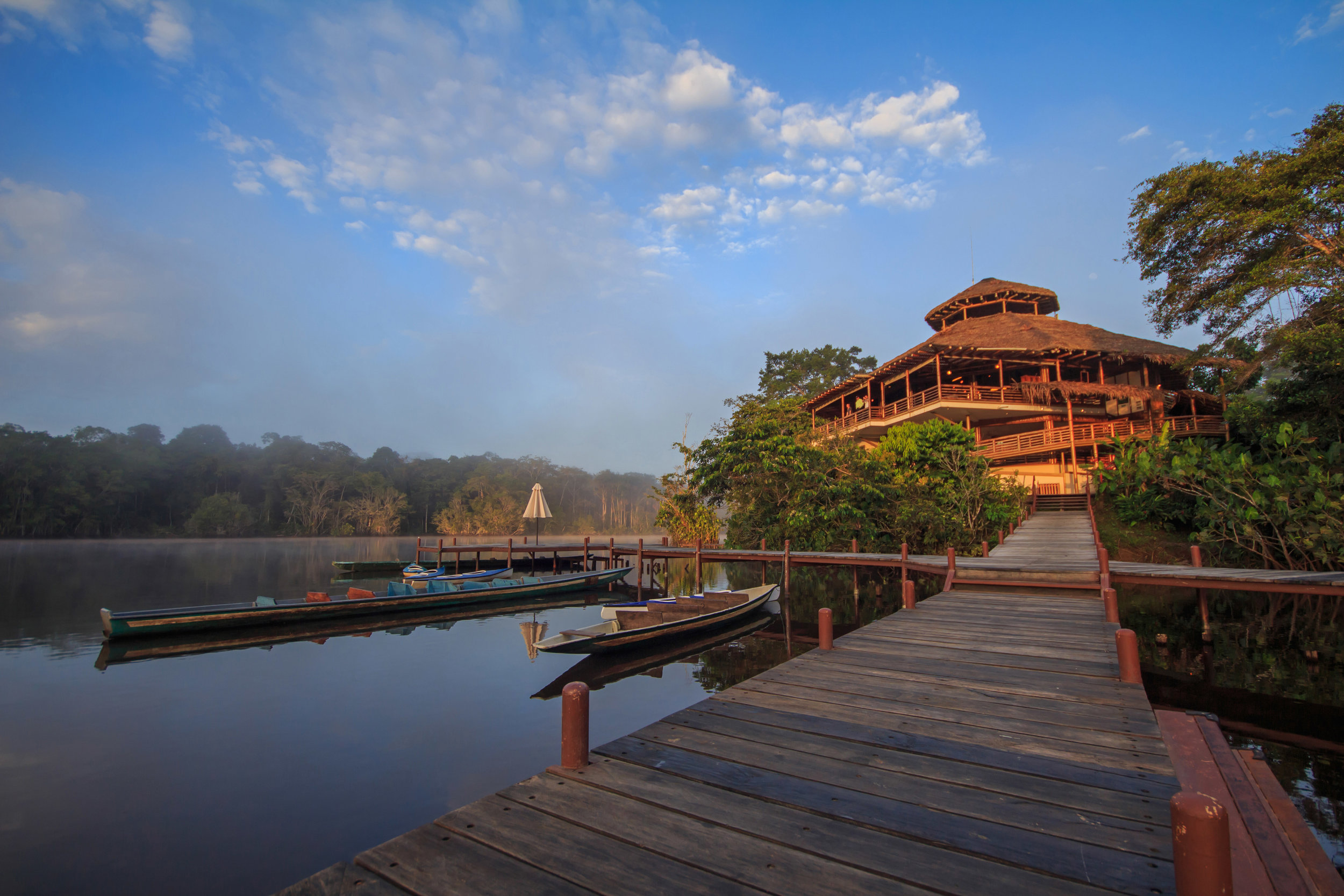 La Selva Jungle Lodge in the Amazon