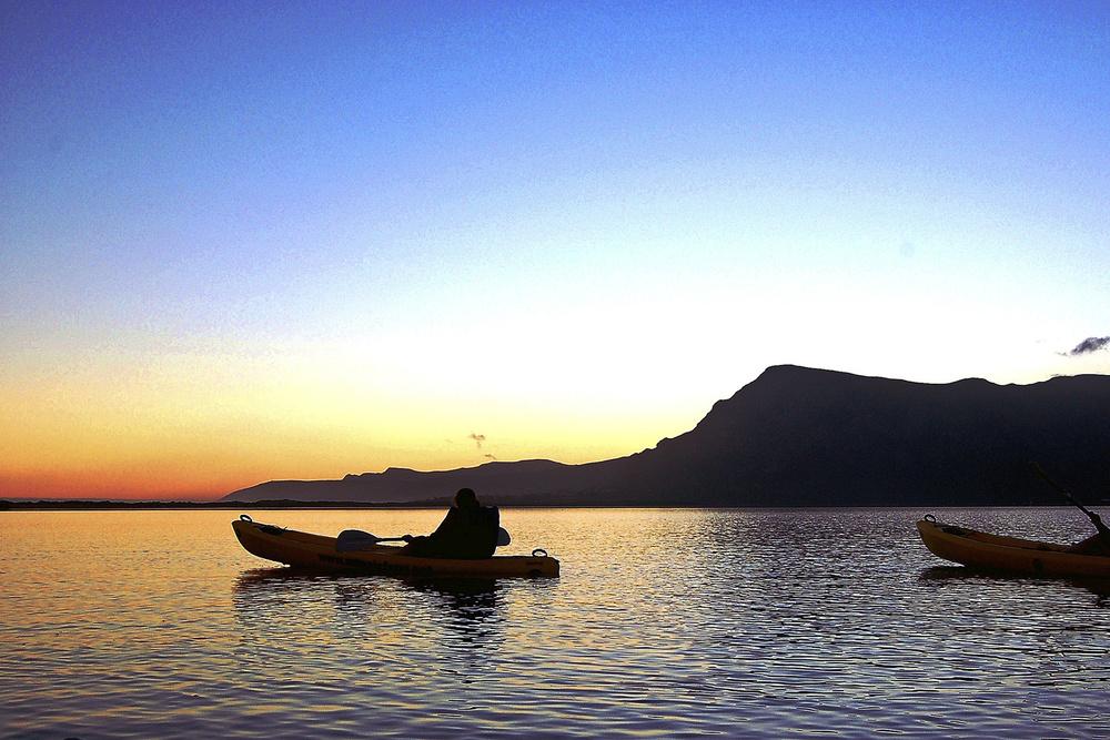 Kayaking at Mosaic Lodge