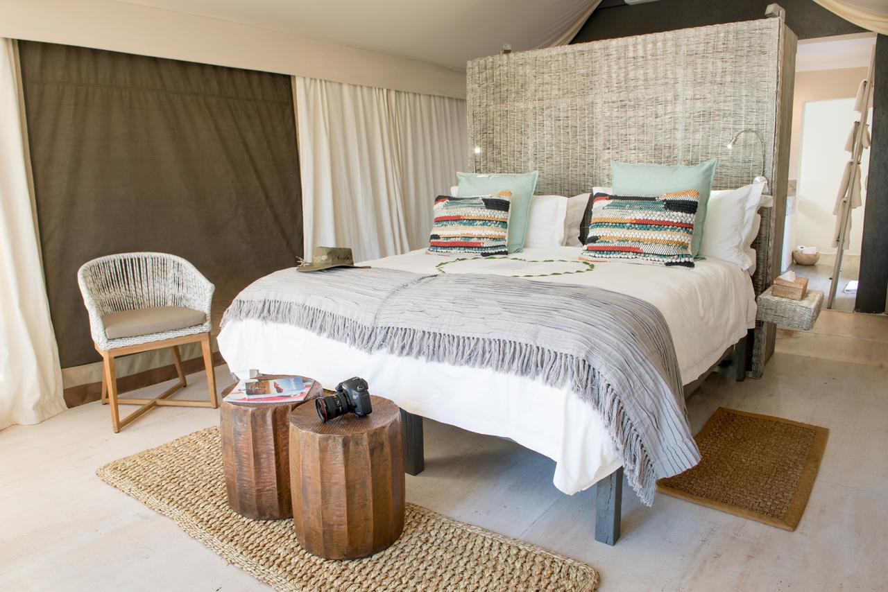 Room at the Simbavati River Lodge