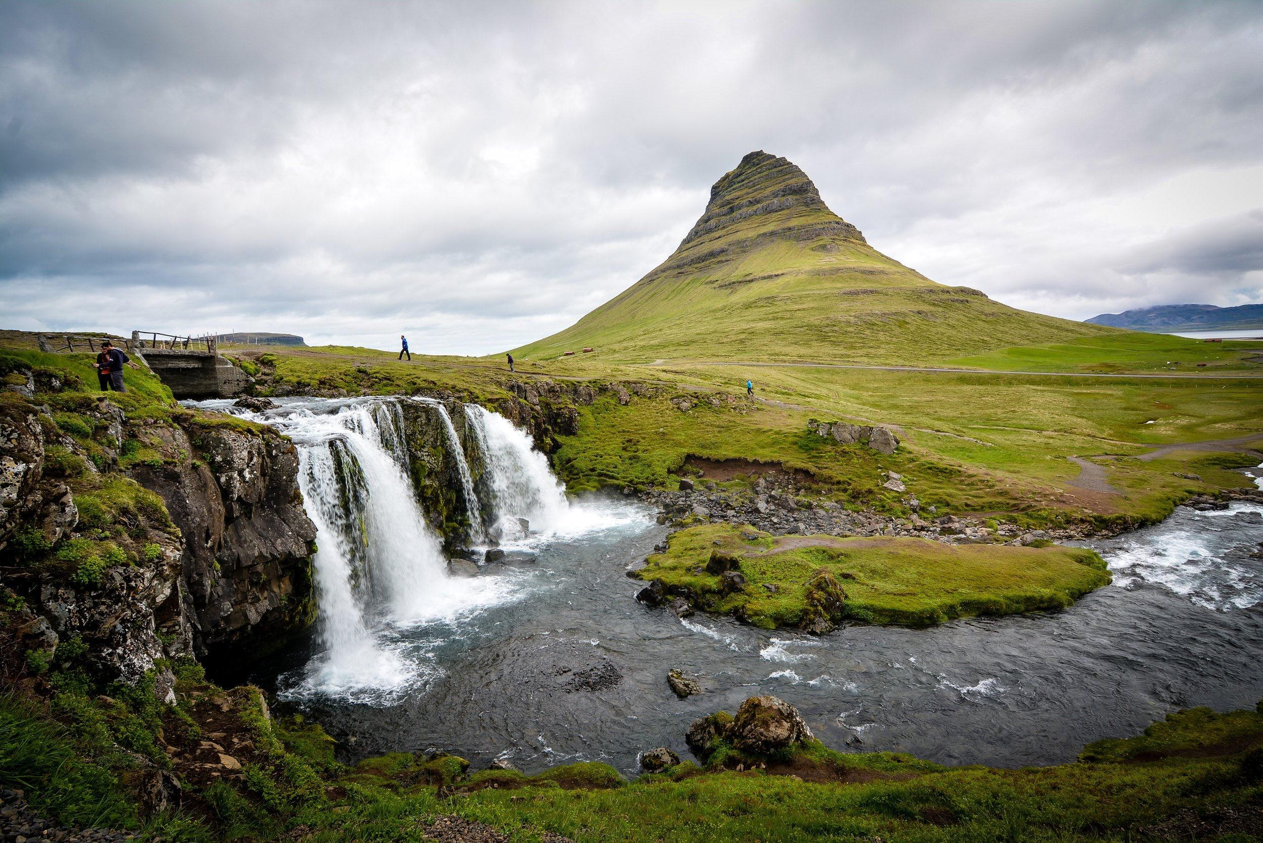 Waterfalls in Iceland