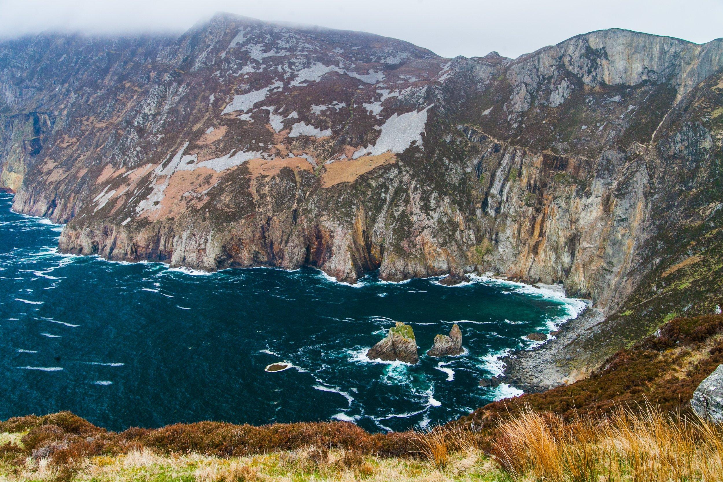Stunning Cliffs on the Coast of Ireland