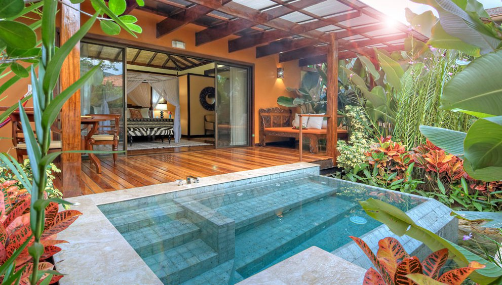 Plunge Pool at Nayara Springs Villa