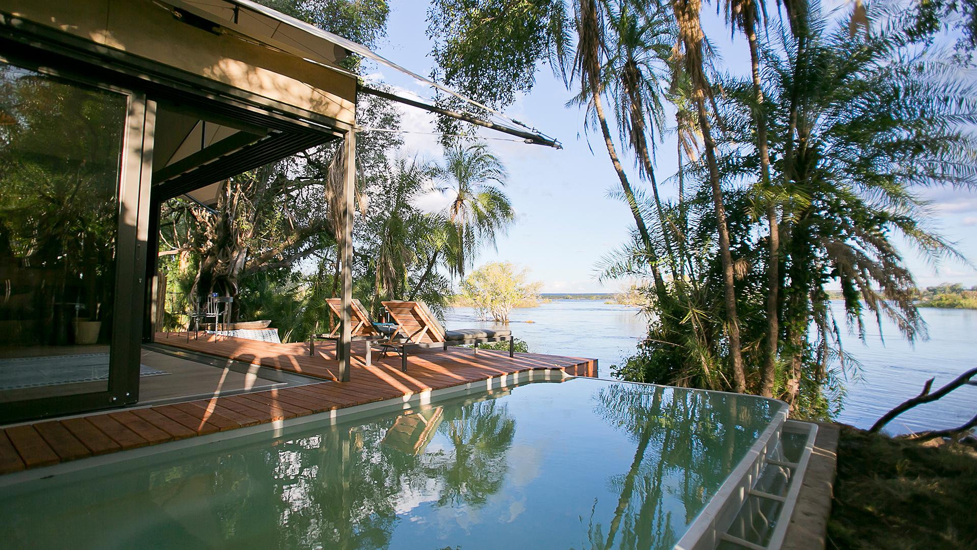 Pool at Thorntree River Lodge