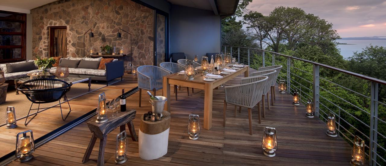 Dining at Bumi Hills