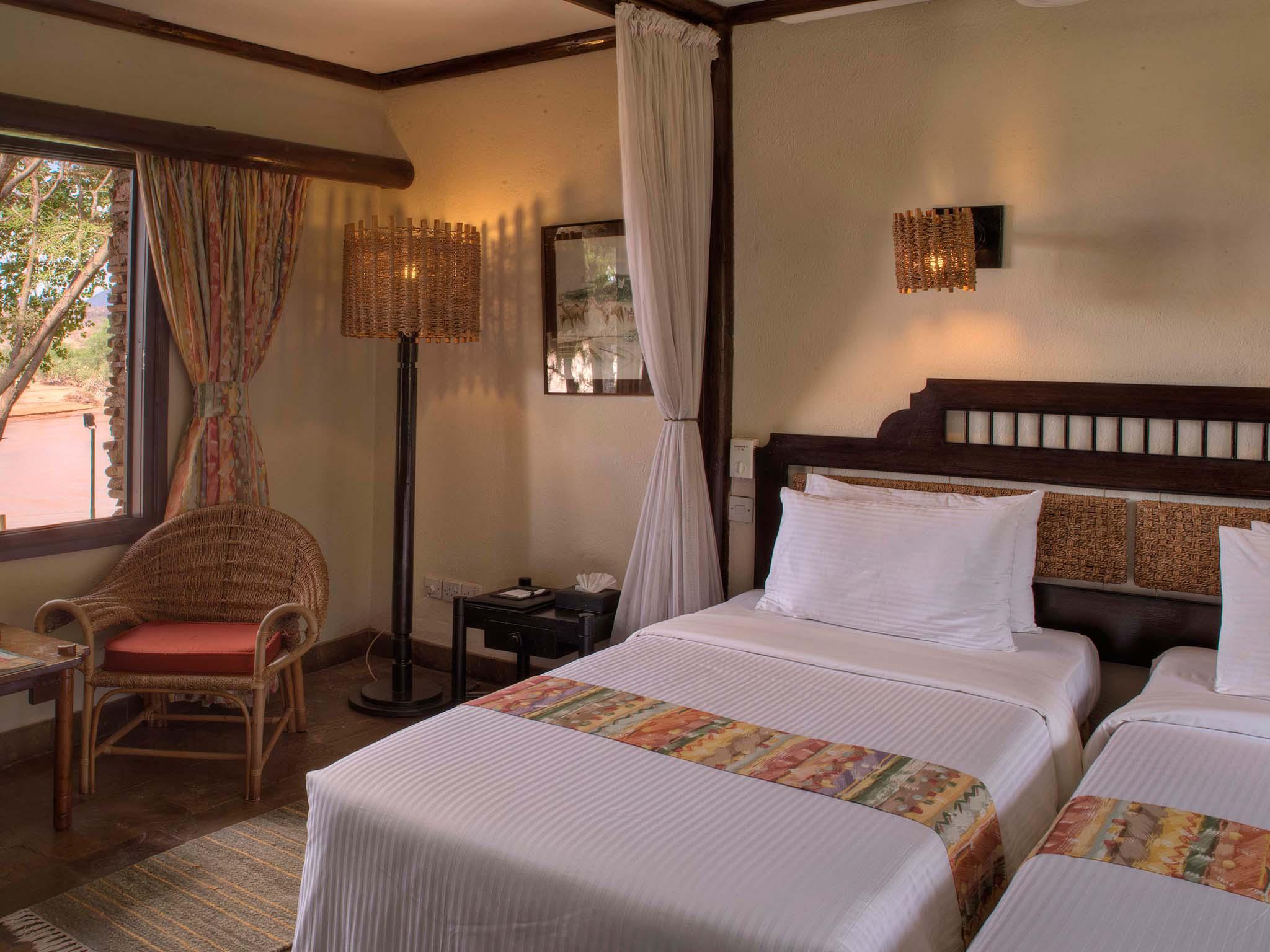 Room in Sarova Shaba Game Lodge