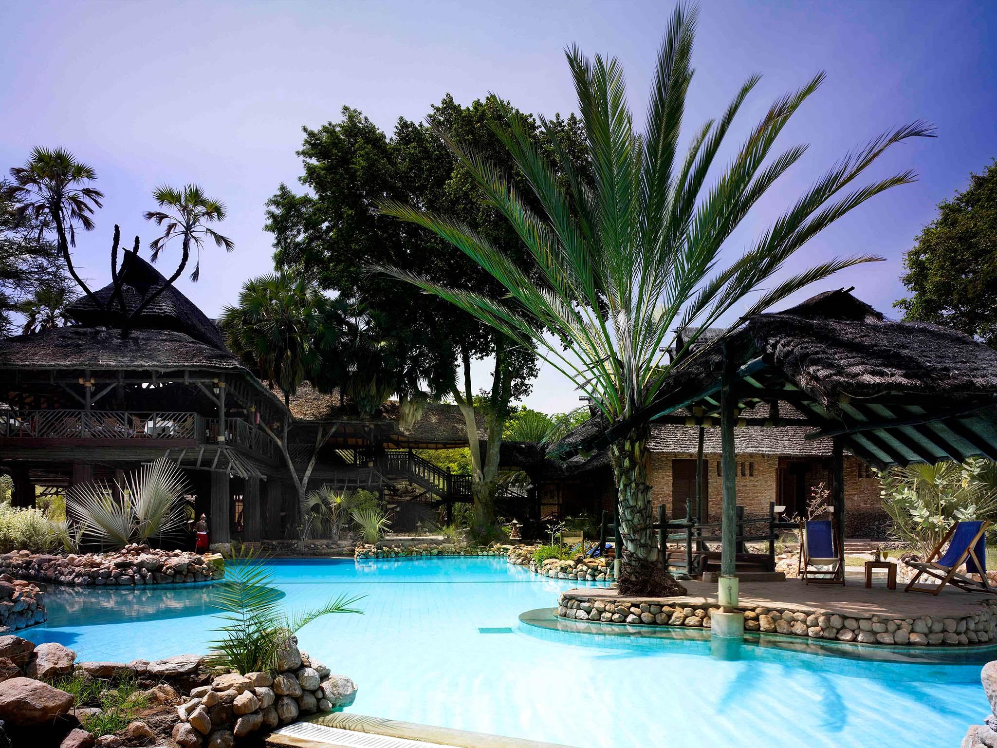 Pool at Sarova Shaba Game Lodge