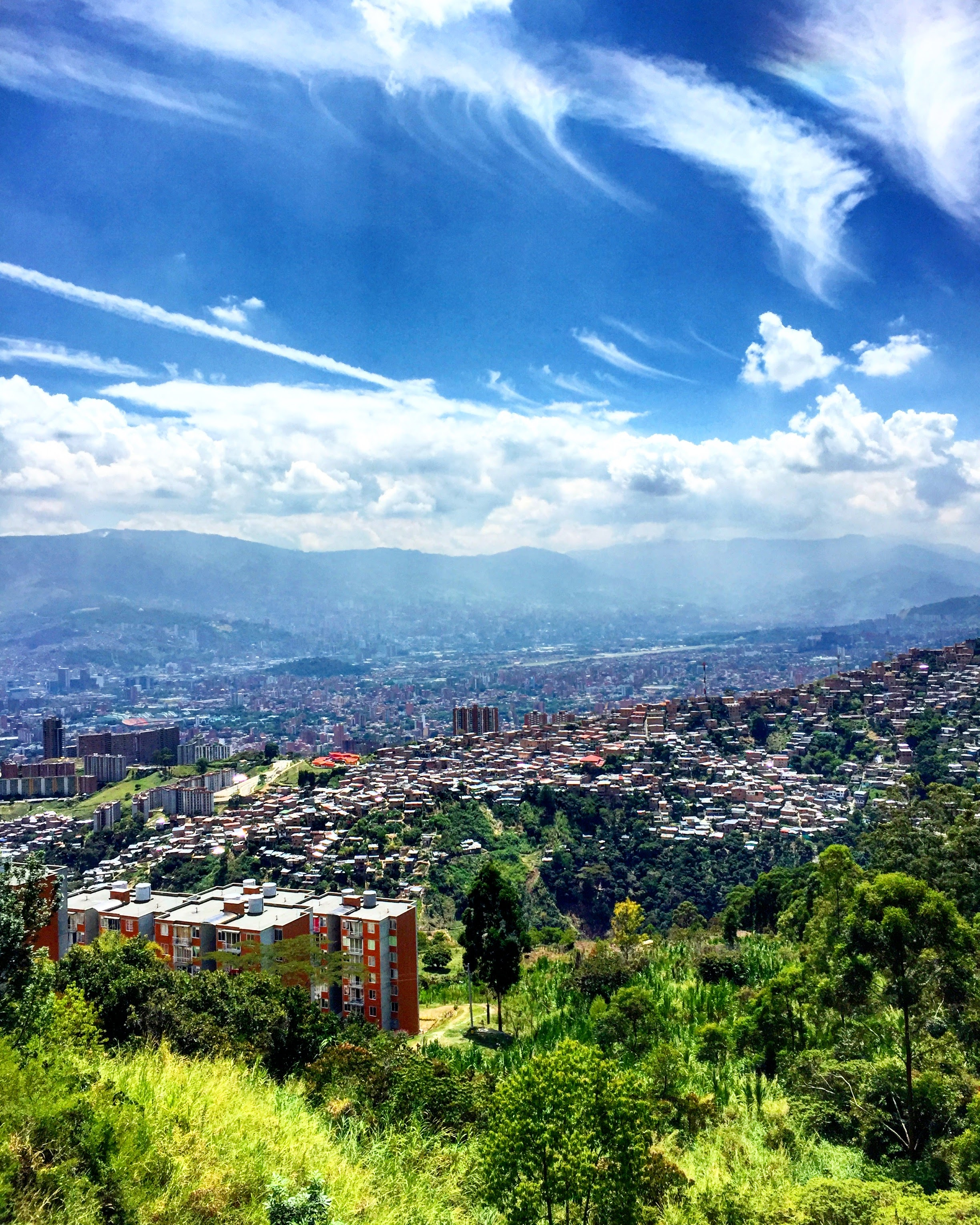 View of Medellín, Colombia