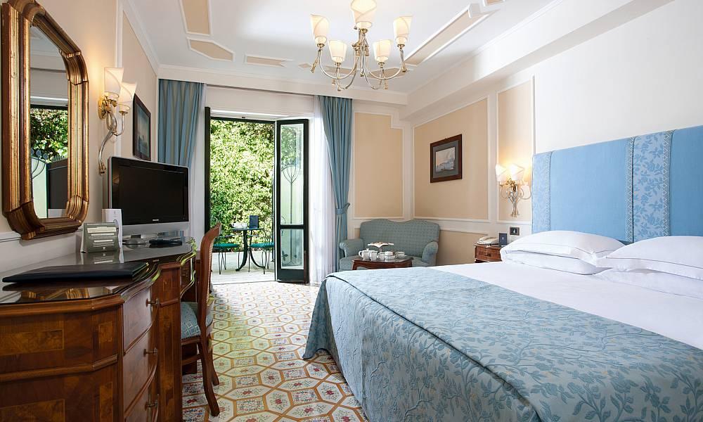 Room at Grand Hotel Royal, Sorrento, Italy
