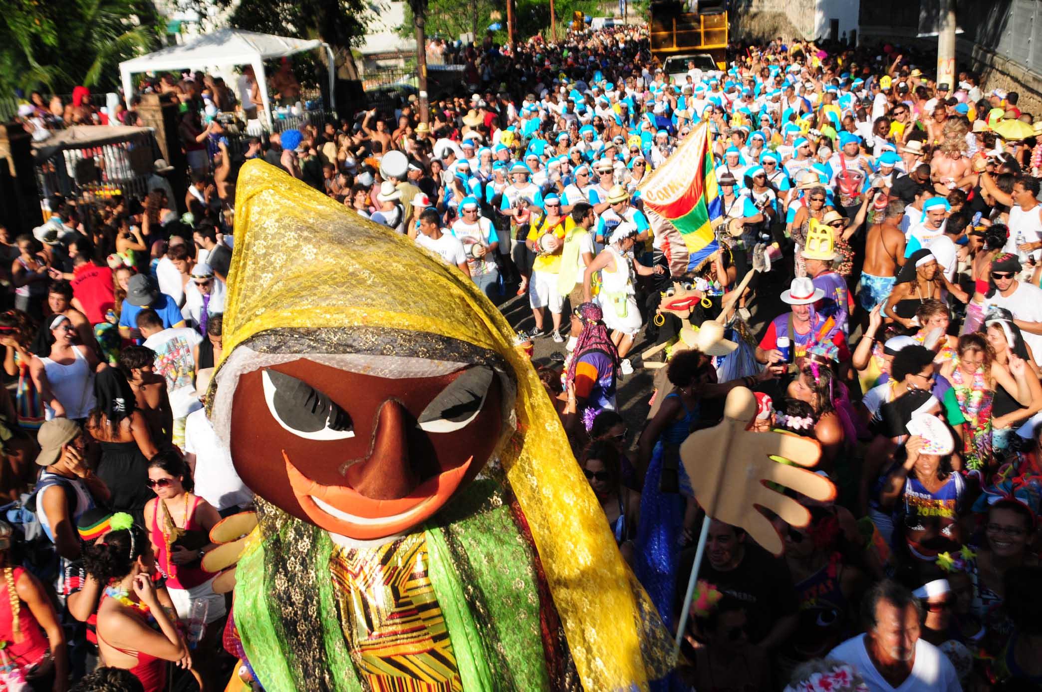 Bloco street party in Rio de Janeiro