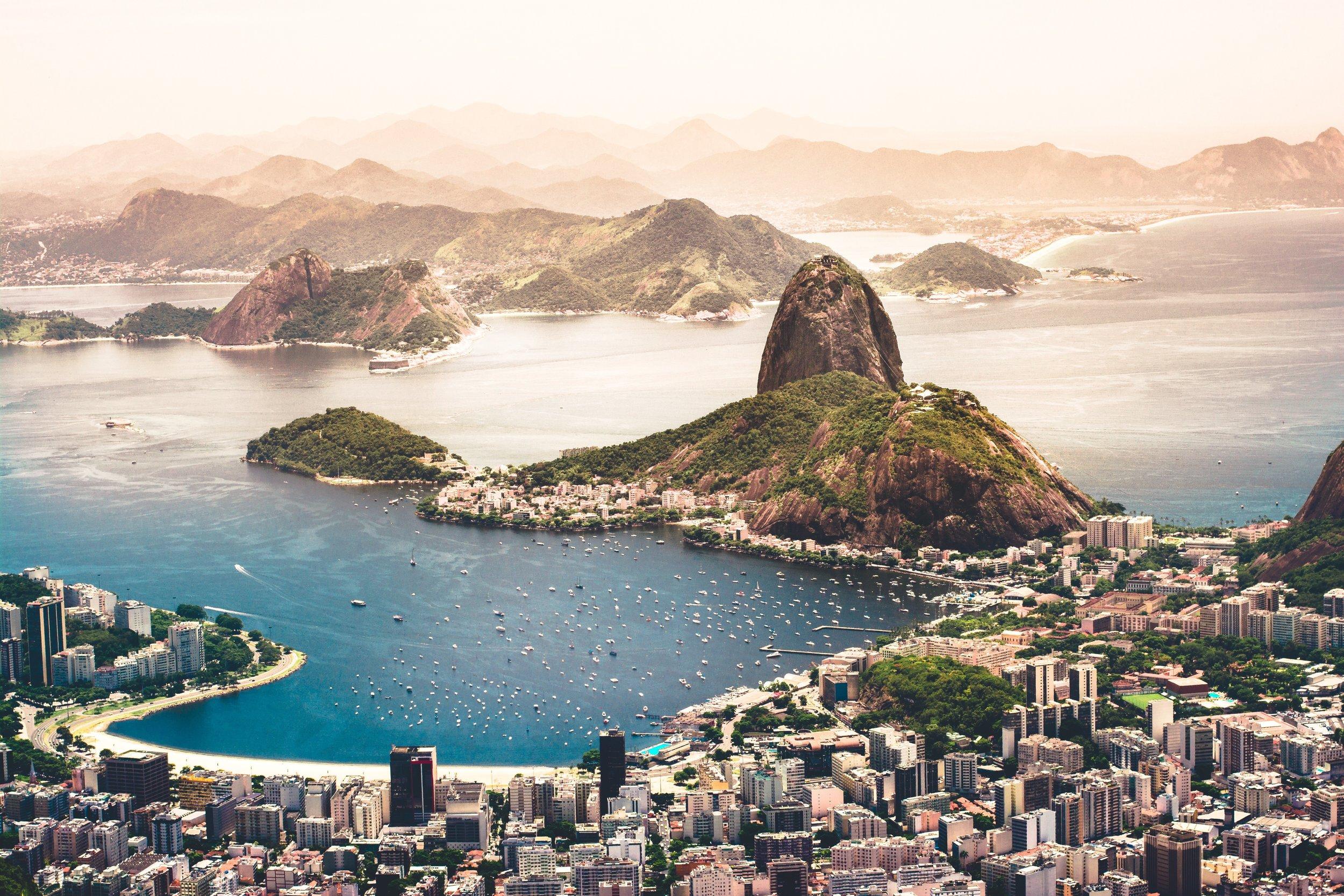 Sugar Loaf Mountain of Rio de Janeiro