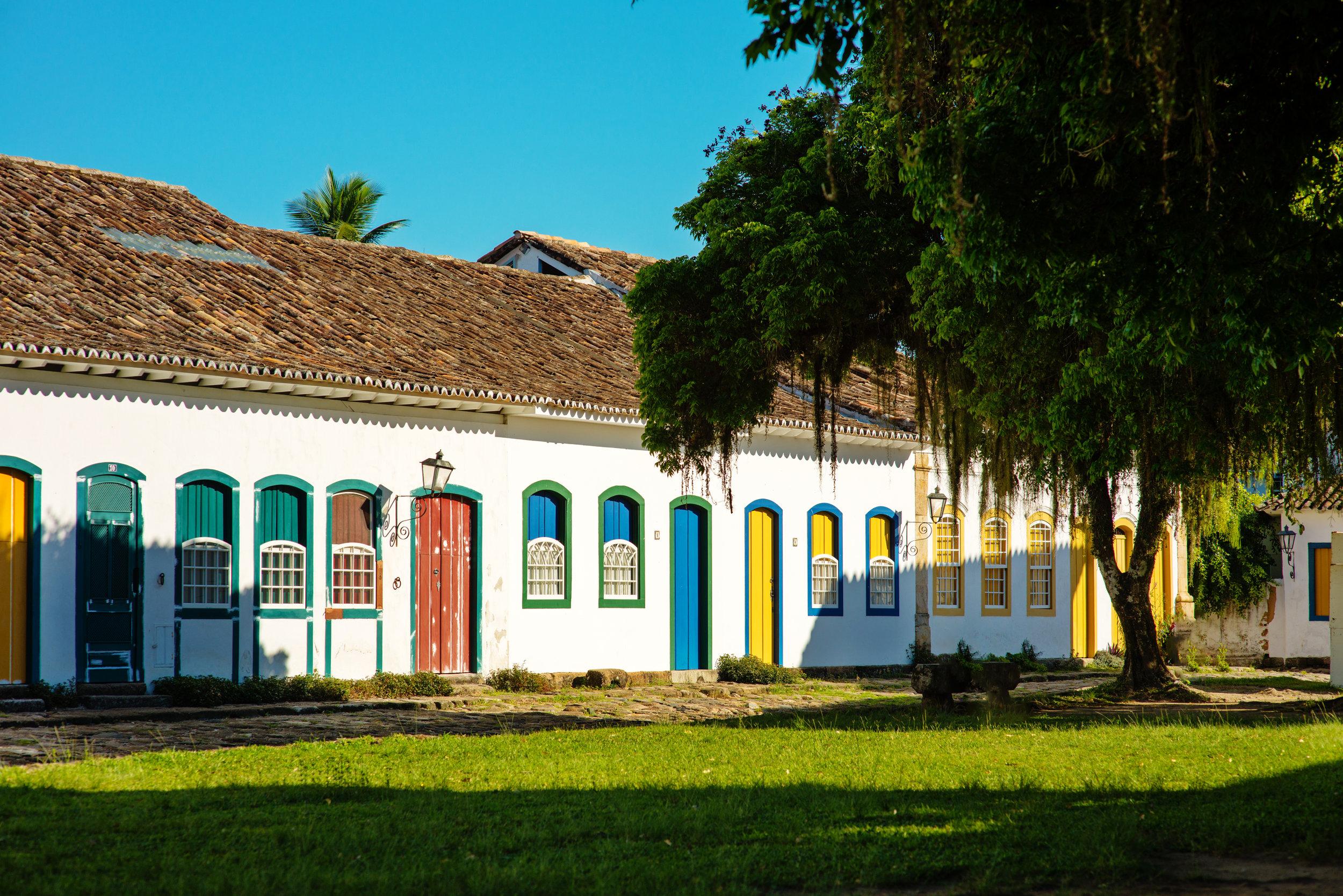 Historic village of Paraty, Brazil