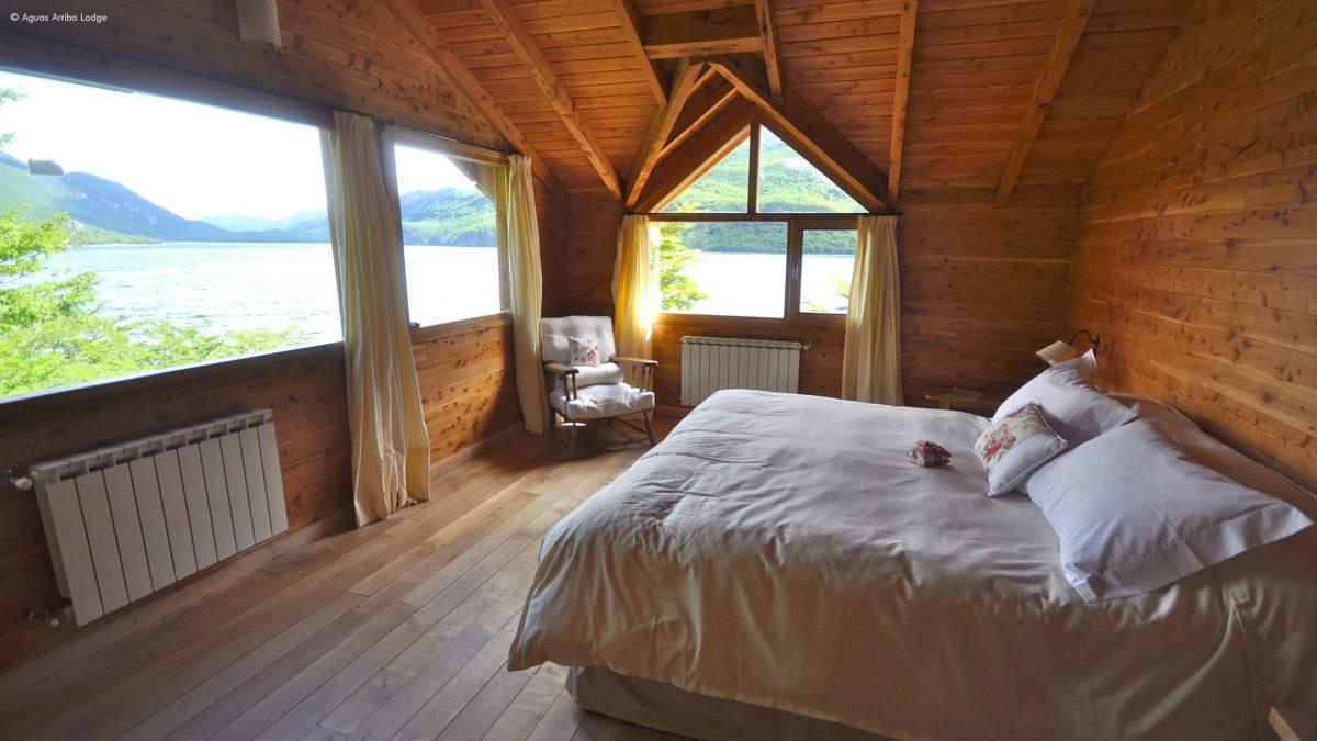 Room at Aguas Arriba Lodge in El Chalten, Argentina