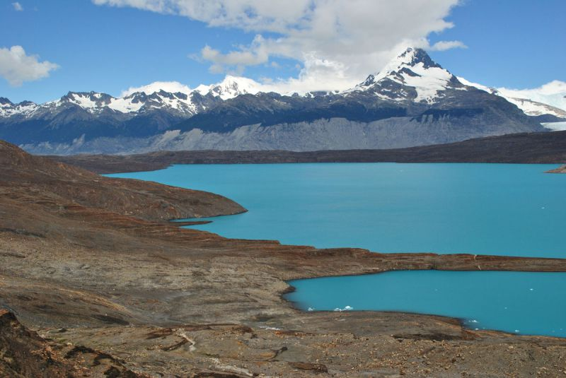 Mountain Landscape in El Calafate, Patagonia, Argentina