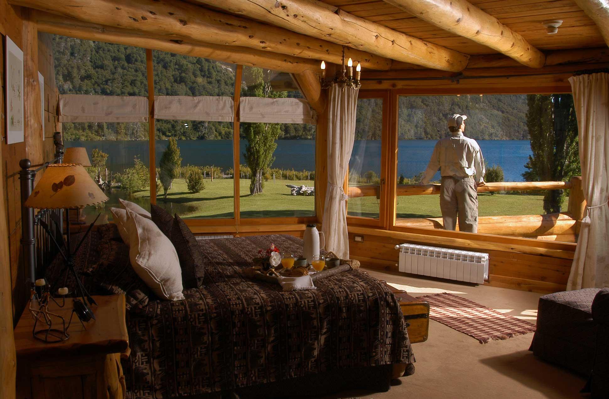 Room at Peuma Hue in Bariloche, Argentina