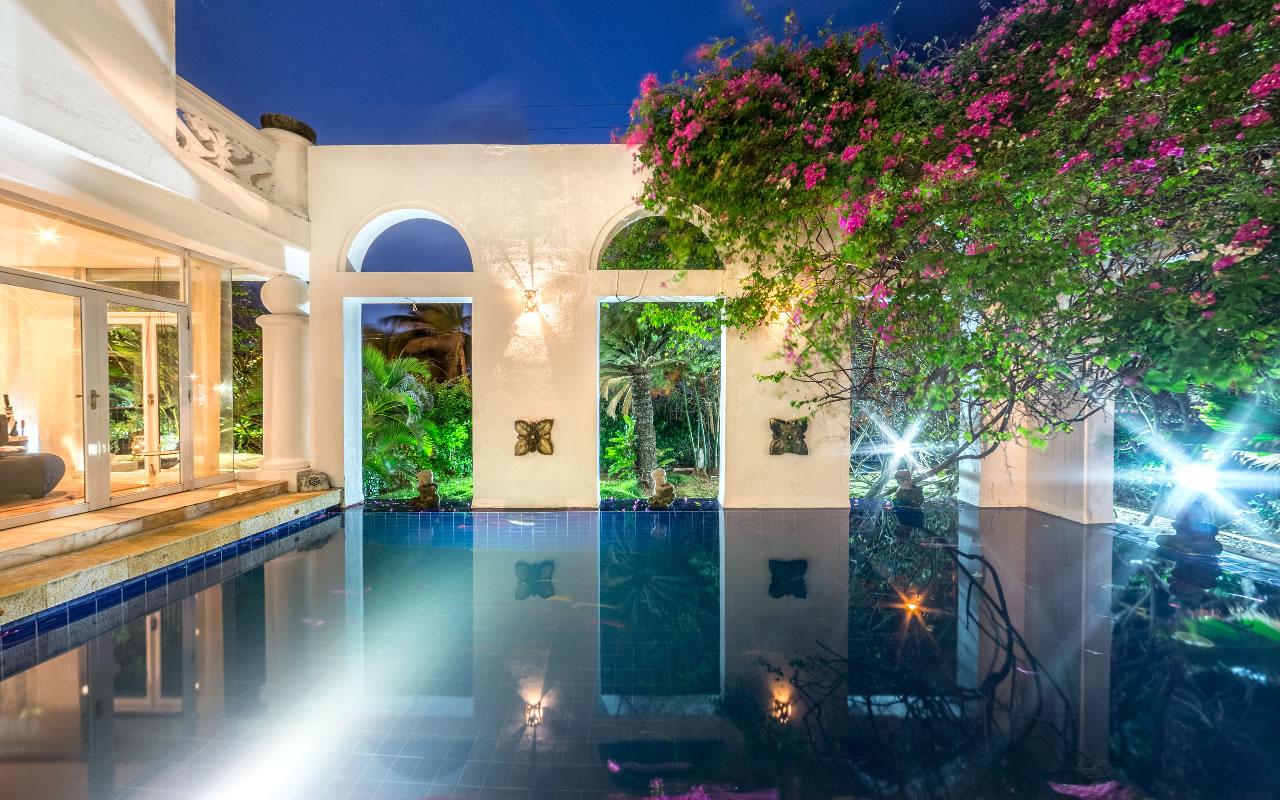 Pool at Casa Harb, San Andres, Colombia