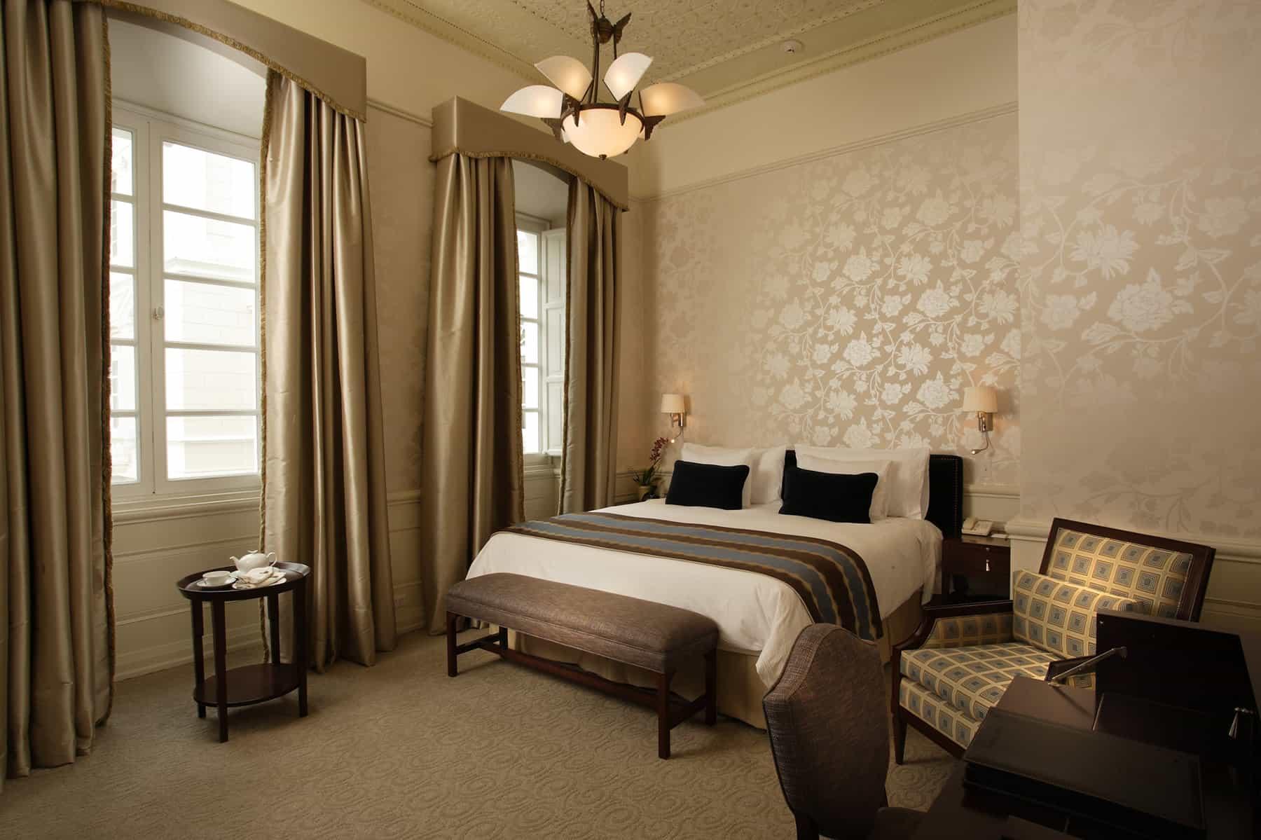 Room at Casa Gangotena, Quito, Ecuador