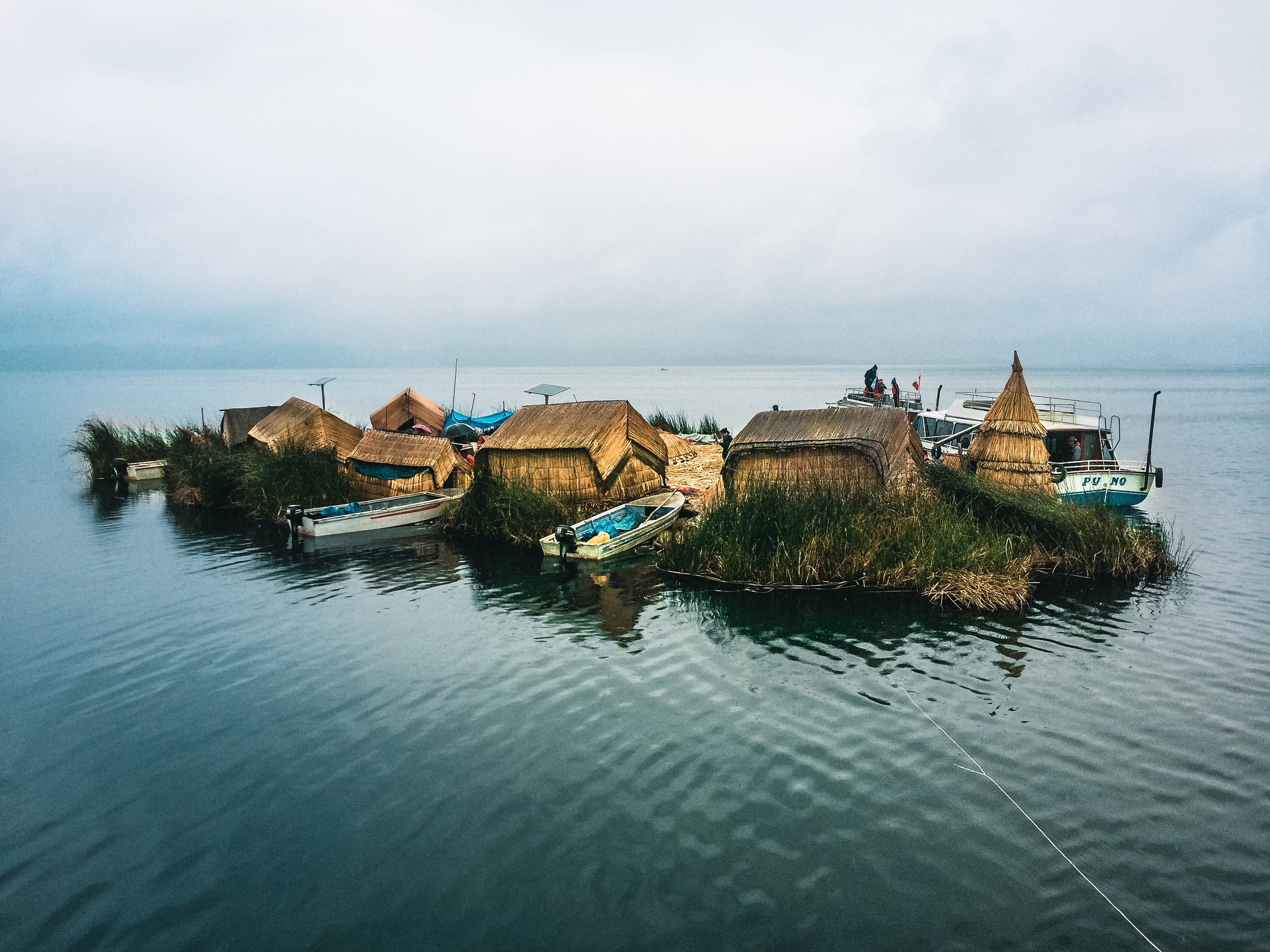 Floating Islands, Puno, Lake Titicaca, Peru