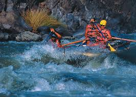 Rafting on Urubamba River, Peru