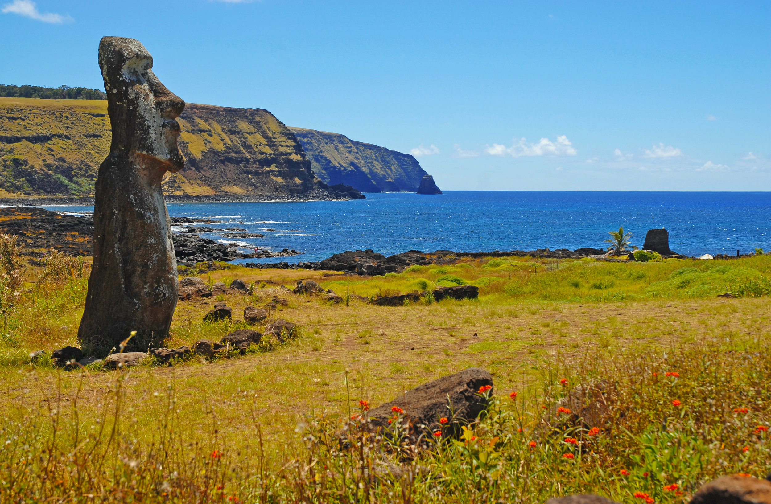 Maoi of Easter Island, Chile
