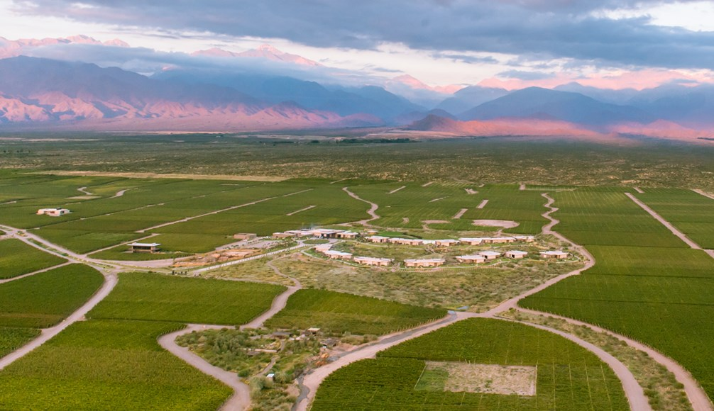 The Vines Resort & Spa in Uco Valley, Argentina