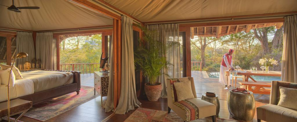 Day 3 - Finch Hattons Luxury Tented Camp, Tsavo West National Park, Kenya