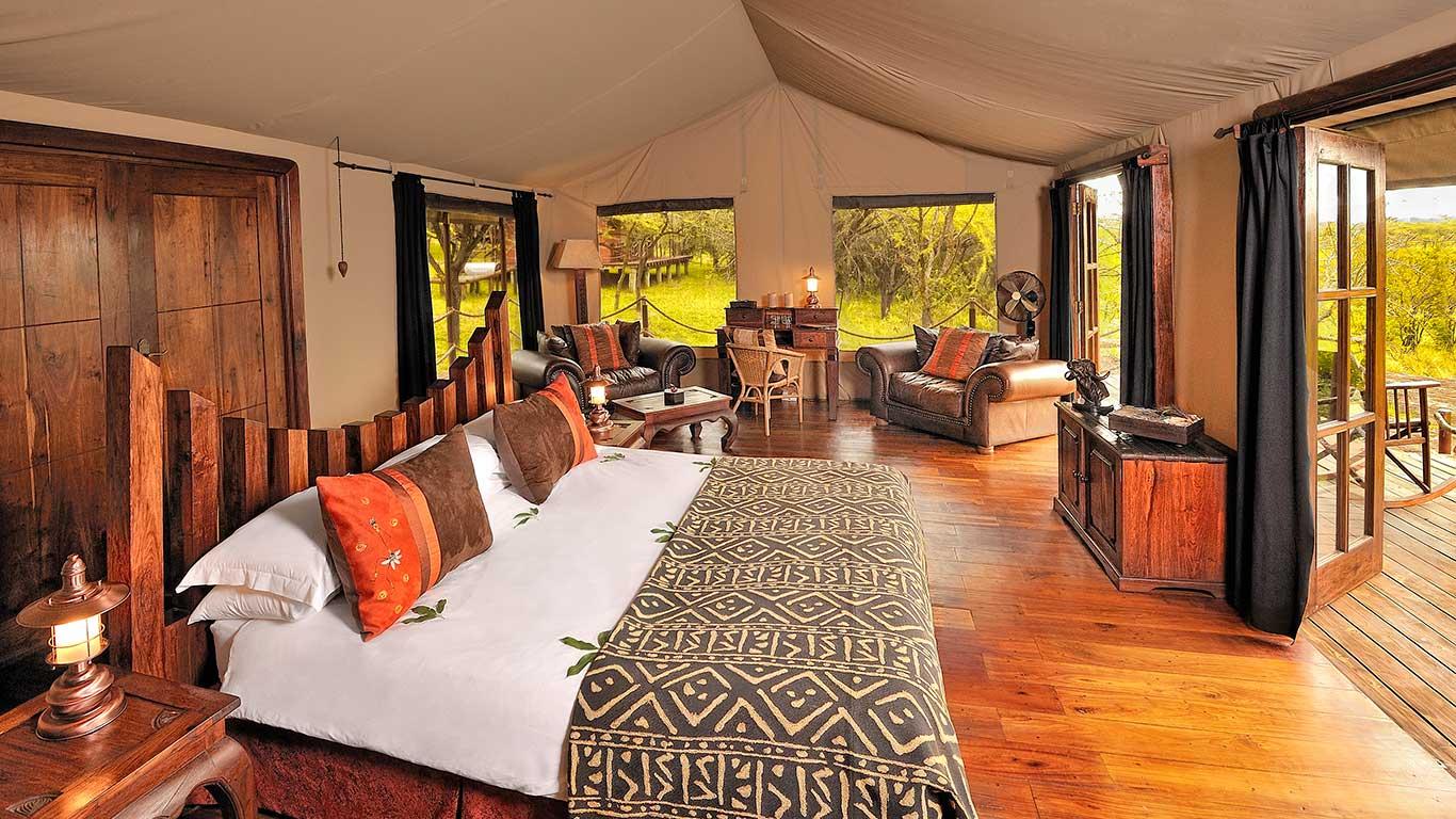 Accommodations at Serengeti Migration Camp, Tanzania