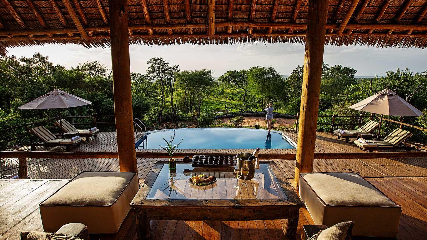 Pool at Treetops Tarangire, Tanzania