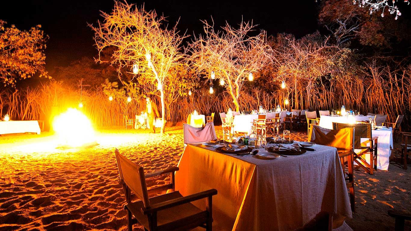 Boma Dinner at Treetops Tarangire, Tanzania