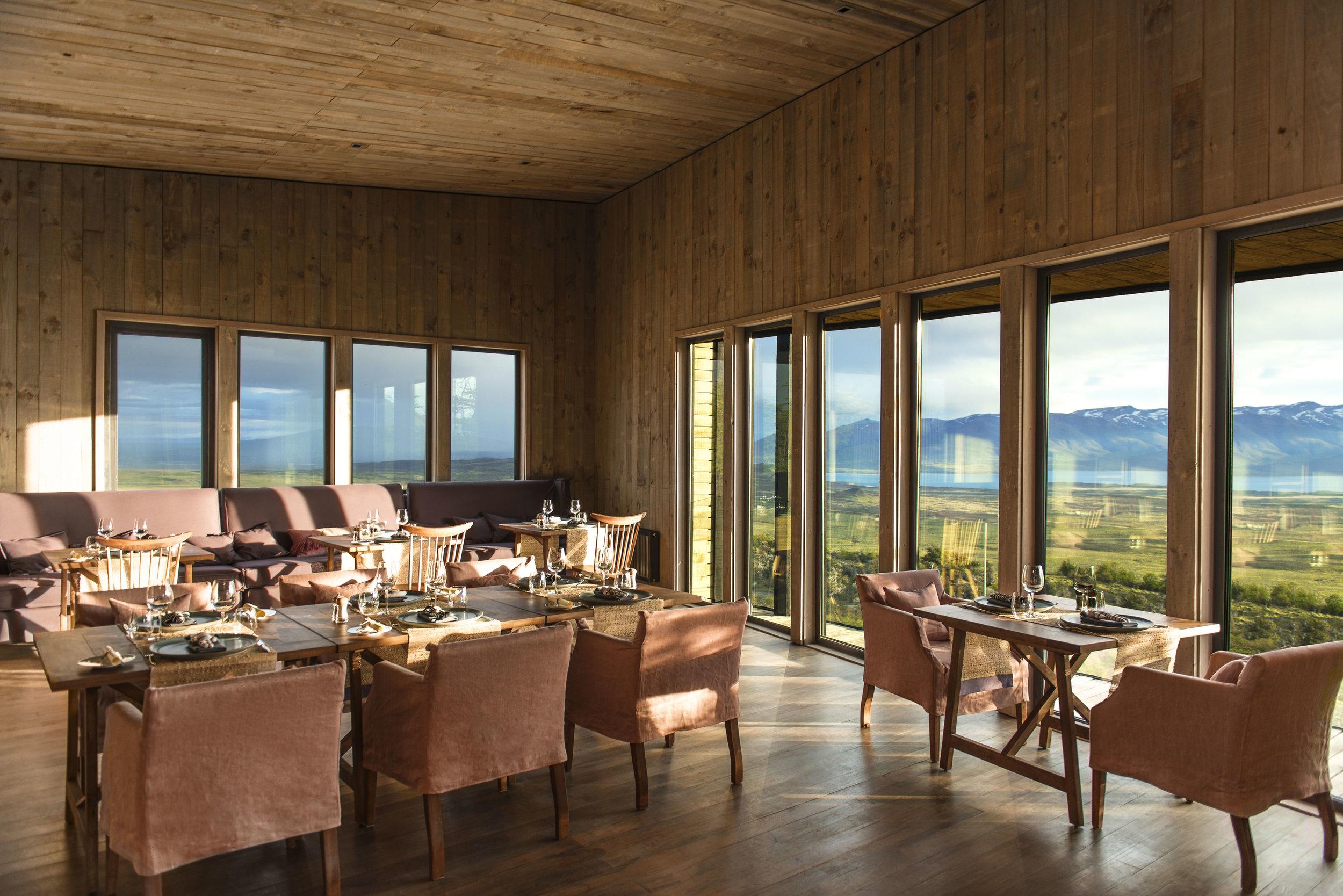 Main Lodge at Awasi Patagonia, Chile