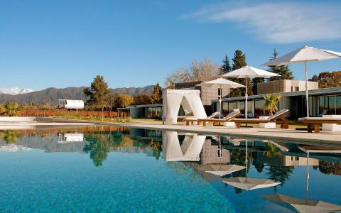 Pool at Entre Cielos, Mendoza, Argentina