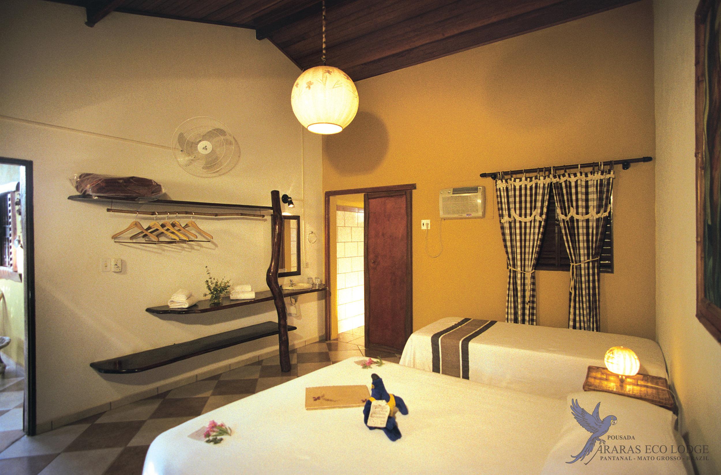 Accommodations at Araras Eco Lodge, Pantanal