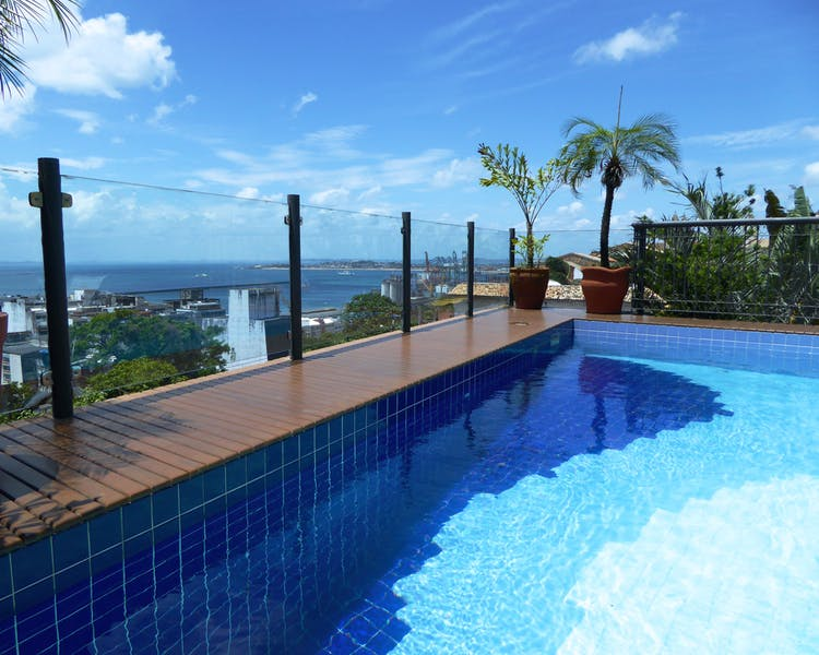 Rooftop Pool at Casa do Amarelindo, Salvador da Bahia