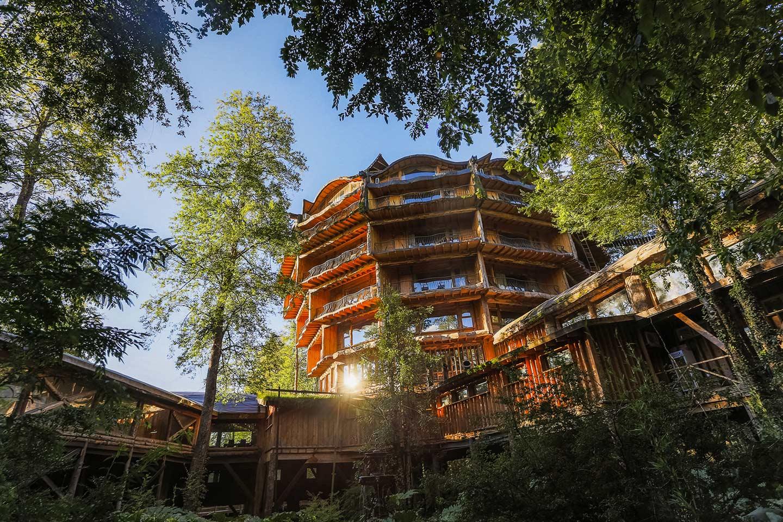 Nothofagus Hotel & Spa at Huilo Huilo Biological Reserve
