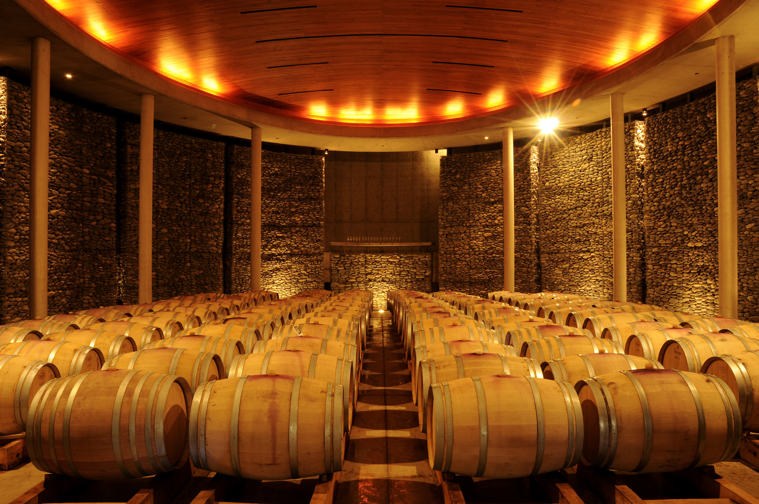 Bodega at Matetic Vineyards, Valle del Rosario, Chile