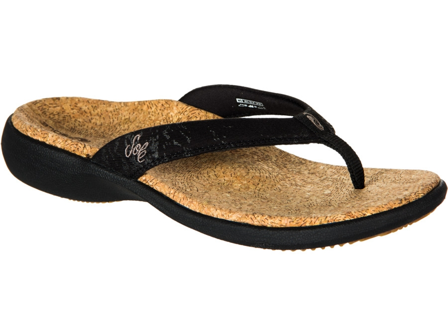 Sole Sandals - Sole flip flops offer excellent orthopedic features: the arch height will adjust to fit correctly to the foot without flattening out, the forefoot area will take shape of the ball of the foot and toes, and the deep heel cup supports the heel shape.