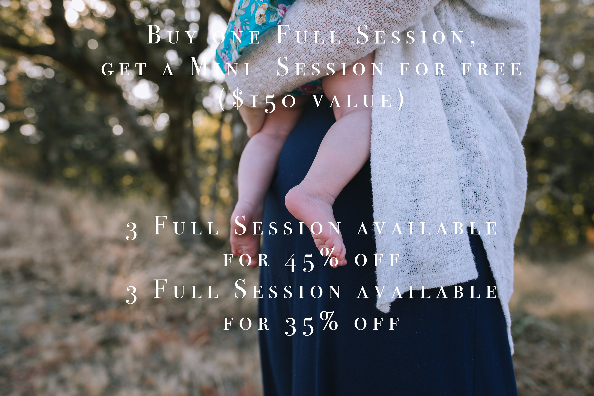 Buy one Full Session, Get a Mini Session Free to keep or gift.  3 Full Sessions 45% off. Once they are booked then 3 more Full Session are available for 35% off.  Full sessions are Lavender Lemonade and Lavender Coconut.  *Some restrictions apply.