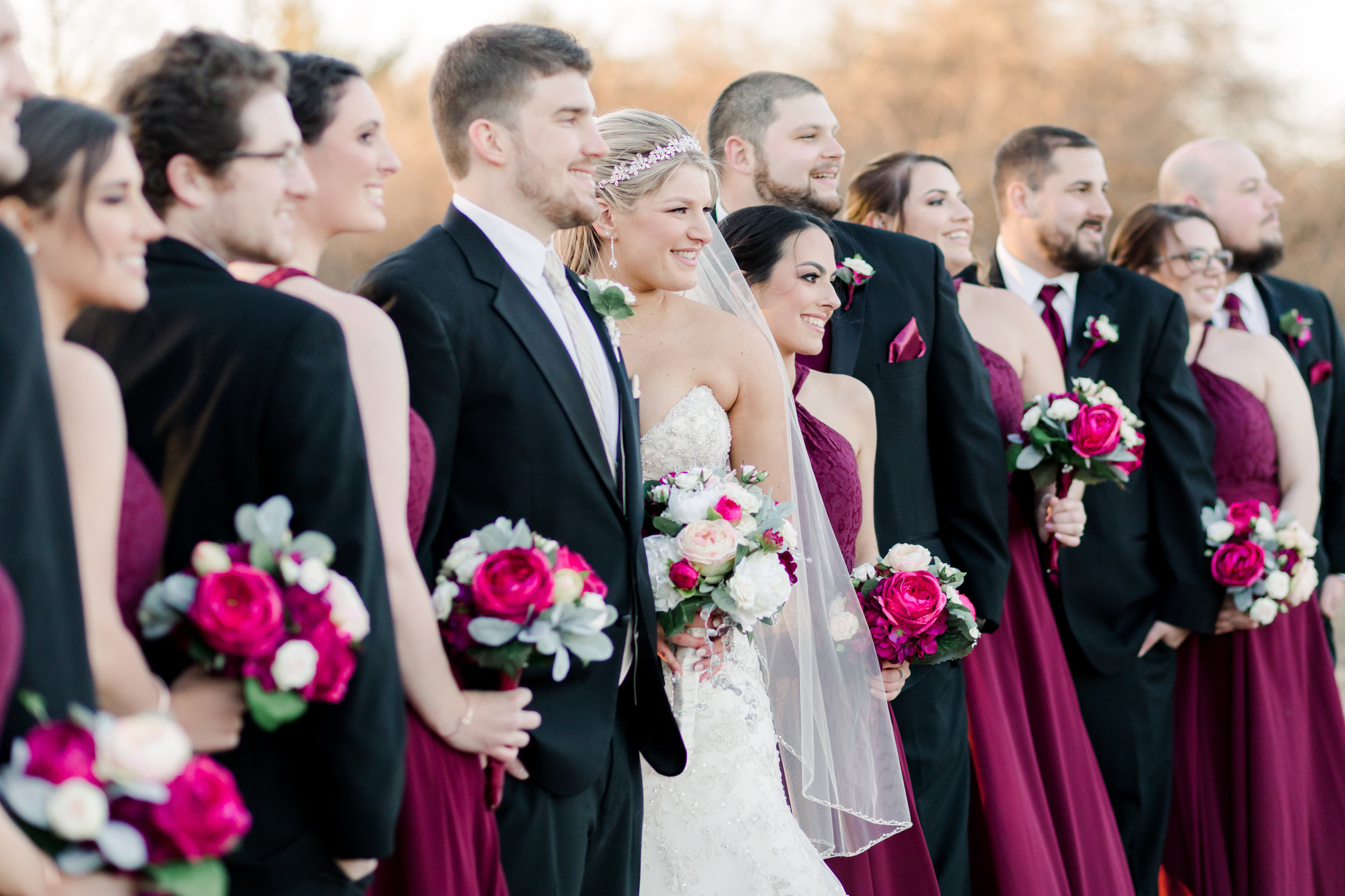2. Family or bridal party running late -