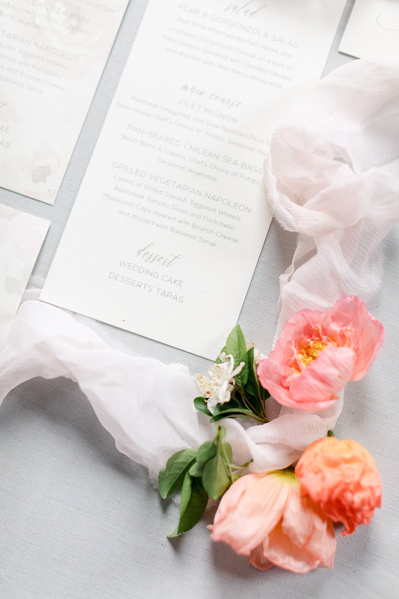 Bespoke Stationery - Your invitation suite is the first thing your guests will receive to welcome them to your wedding day. Share with them a beautiful invitation that speaks to the theme and formality of your day. A fun new trend is to add a custom illustration of your wedding venue to the invitation suite.