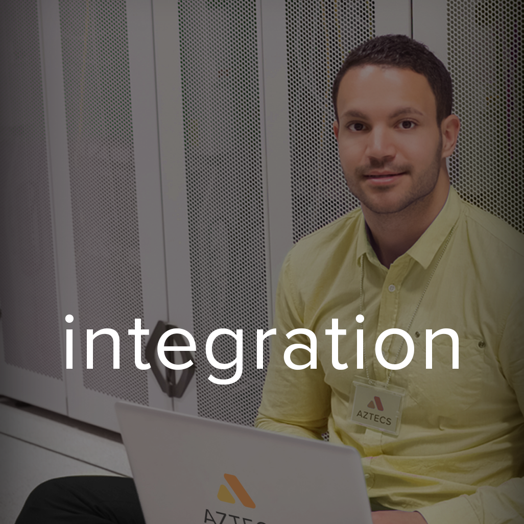 Our  Integration  Team is one of the Company's most unique attributes. With them, Aztecs is one of the very few independent service organizations that can design, develop, and integrate complete multi-layer heterogeneous networks using only in-house resources.  Each of Aztecs integrator are trained on multiple manufacturers and technologies. This allows them to independently provision, commission, and integrate each layer of the network; thereby, increasing efficiency and reducing costs and project duration.  Integration services are currently available for new deployment, expansion, and upgrades of macro eNodeBs, small cells, remote radio units (RRUs), repeaters, passive DASs, active DASs, and Wi-Fi access points.