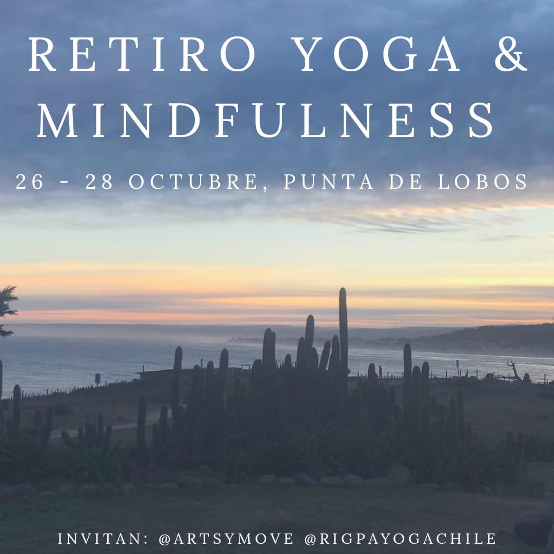 Retiro Yoga Punta de Lobos - Yoga, Mindfulness y Surf26, 27 y 28 de Octubre